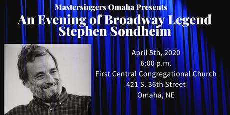 An Evening of Broadway Legend Stephen Sondheim tickets