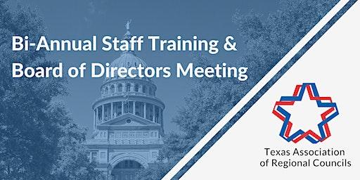 February 2020 Bi-Annual Staff Training & Board of Directors Meeting