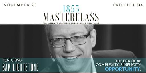 1855 MASTERCLASS- The Era of Artificial Intelligence