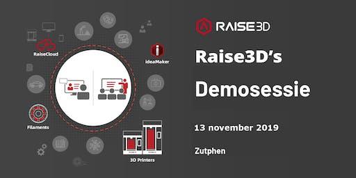 Raise3D Demosessie