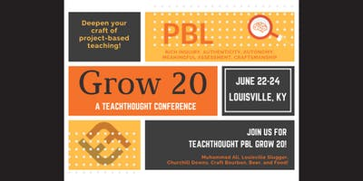 TeachThought PBL Grow 20