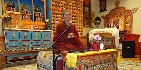 3-Part Lecture Series - 'The Elements of Virtues:A Trilog'- Khenpo Pema Wangdak | December 2019 tickets