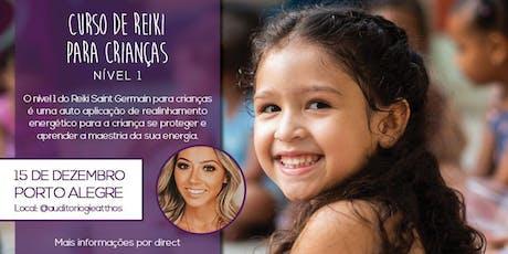 Nível I - Reiki Saint Germain para Crianças ingressos