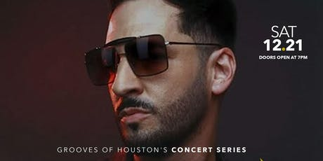 R&B Star Jon B Live In Concert | Grooves of Houston's Concert Series tickets