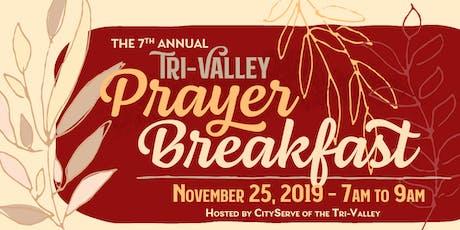 7th Annual Tri-Valley Prayer Breakfast tickets