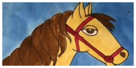 SPECIAL OFFER- 50% OFF!- How to Draw a Horse Homeschool Workshop (5-12 Years) tickets