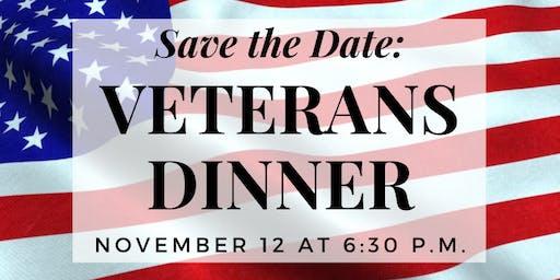 Veterans Appreciation Dinner, hosted by Ozzie Smith Center