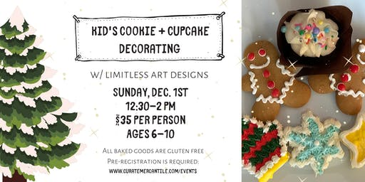 *SOLD OUT* Kid's Cookie & Cupcake Fun