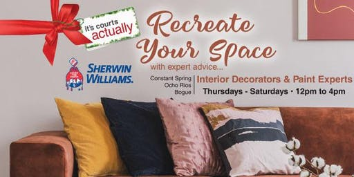 RECREATE YOUR SPACE