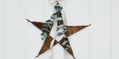 Make a willow star hanging decoration with Julia Clarke at SAMPLE CHRISTMAS tickets