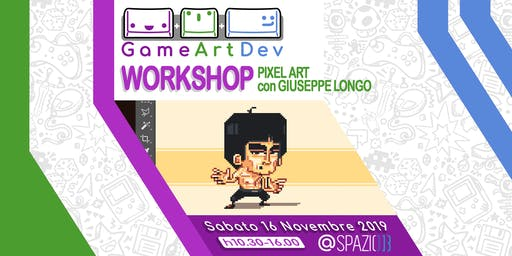 Workshop -Pixel Art con Giuseppe Longo