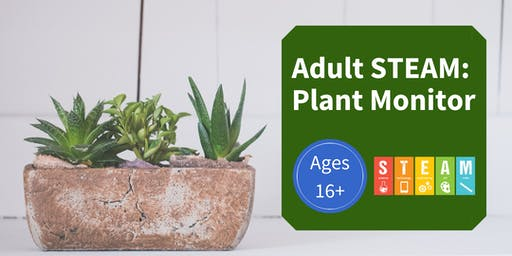 Adult STEAM: Plant Monitor