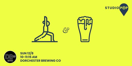 Flow & Sip Yoga @ Dorchester Brewing Company
