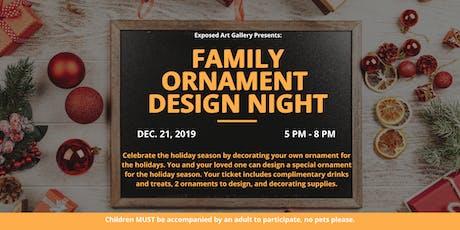 Family Ornament Design Night tickets