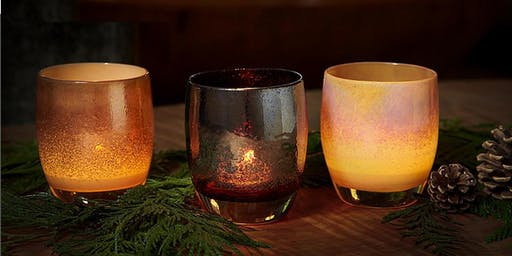 Glassybaby Holiday Collection Happy Hour