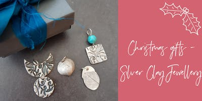 Christmas gifts with Silver Clay - jewellery