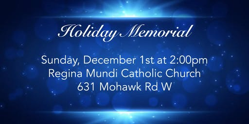 Dermody's  Christmas Memorial Service