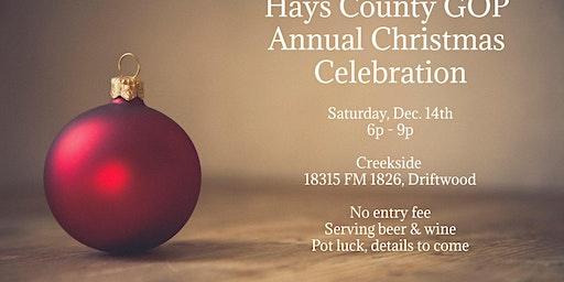 Hays County GOP Christmas Celebration