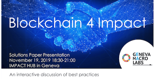 Solutions & Highlights of Blockchain 4 Impact