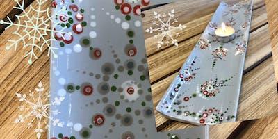 Sip'n'Paint Winter Mandala Dish (BYOB)