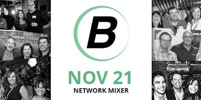 Reno Networking Mixer - Breakthrough Network - November 2019