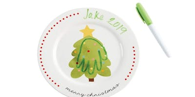 Christmas Cookie and Plate Decorating Event