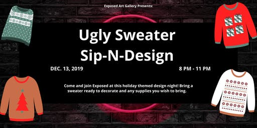 Ugly Sweater Design Party