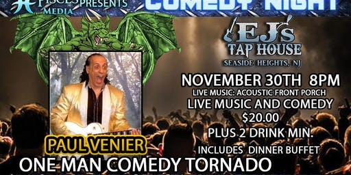 Comedy Night with Paul Venier- Music and Buffet too