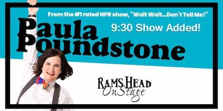 Paula Poundstone (9:30pm Show) tickets