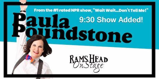 Paula Poundstone (9:30pm Show)