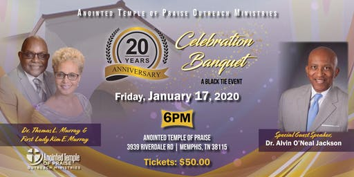 Anointed Temple of Praise 20th Anniversary
