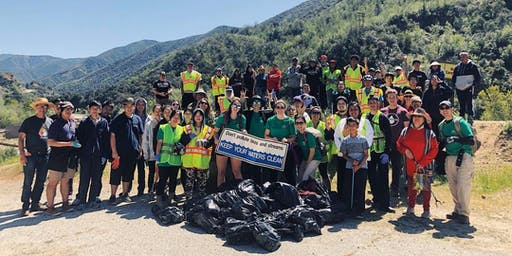 Azusa Canyon Cleanup: A Day for Education