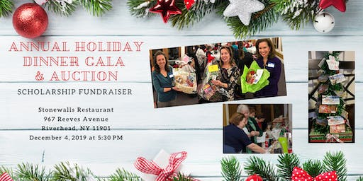 Annual Holiday Dinner Gala and Auction