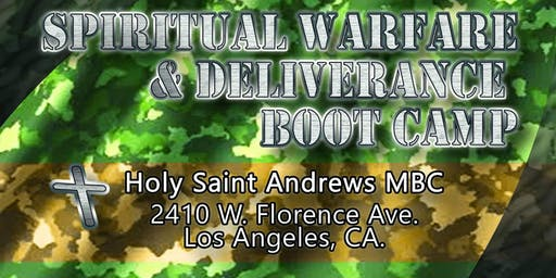 Spiritual Warfare & Deliverance BootCamp #3 Destroying The Enemies Altars!
