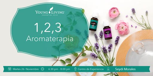 Aromaterapia 1,2 y 3