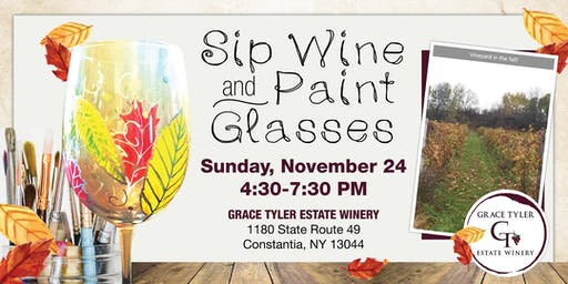 Sip Wine And Paint Glasses 11/24/19