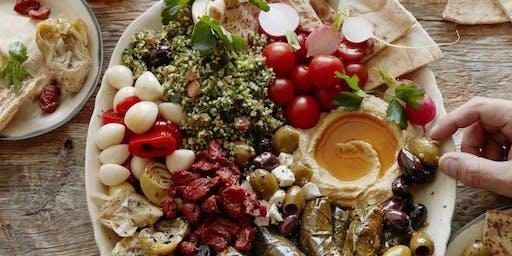 Greek Vegan Mezze Night at Cosmic Kitchen