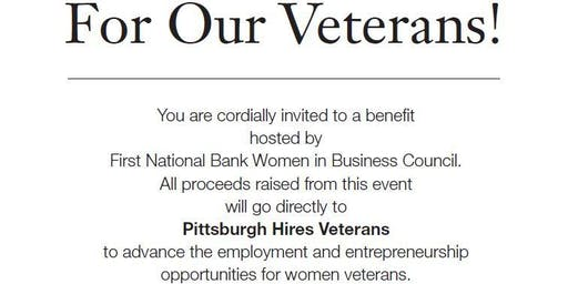 Give Thanks for our Veterans -First National Bank Women in Business Council