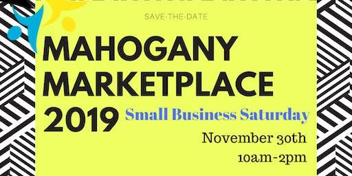 Mahogany Marketplace 2019 Small Business Saturday