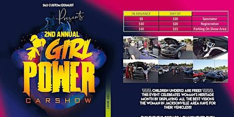 2nd Annual Girl Power Car Show tickets