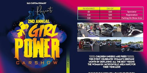 2nd Annual Girl Power Car Show