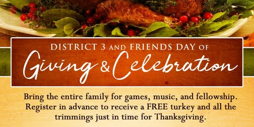 Day of Giving 2019 - Thanksgiving Basket Giveaway
