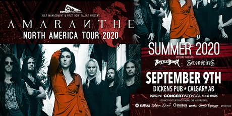 Amaranthe w/ Battle Beast & Seven Spires tickets