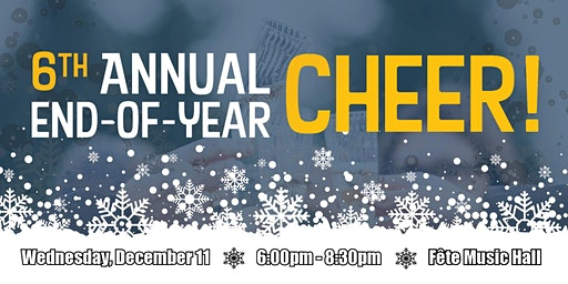 LRI's Sixth Annual End-of-Year Cheer!