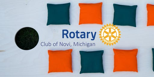 Novi Rotary Foundation Charity Cornhole Tournament