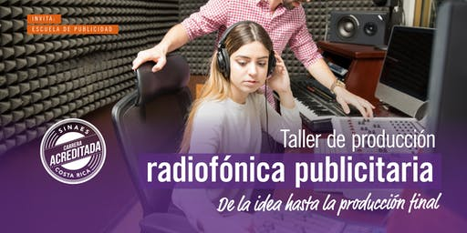 Taller de Producción Radiofónica Publicitaria - ADM