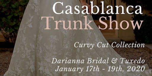 Casablanca Bridal Plus Size Wedding Dress Trunk Show