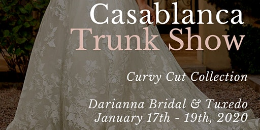 Casablanca Bridal Plus Size Wedding Dress Trunk Show