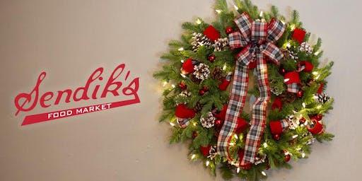 Sendik's Holiday Wreath Decorating Workshop at The Corners of Brookfield
