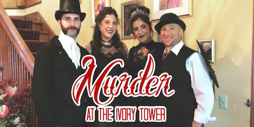 Murder at the Ivory Tower: Holiday Live Murder Mystery